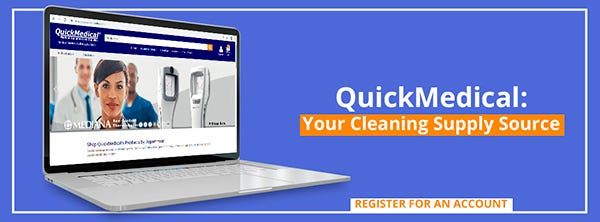 QuickMedical Your Cleaning Supply Source