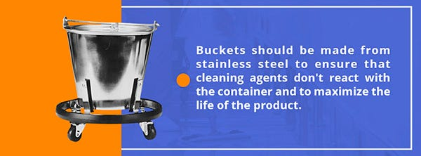 Buckets for Cleaning